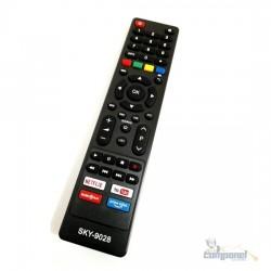 Controle Compatível Smart Tv Philco Netflix - Youtube - GloboPlay - Primevideo LE7250
